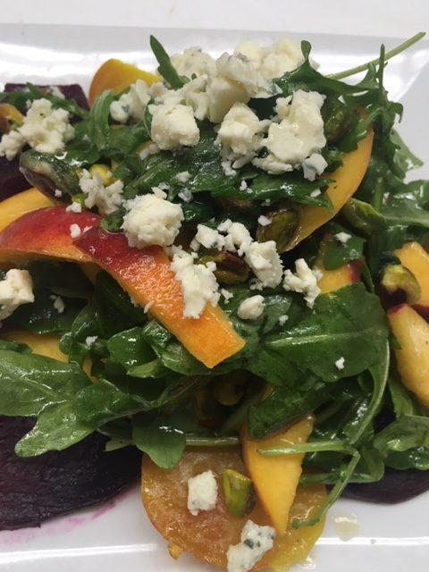 beet-peach-salad