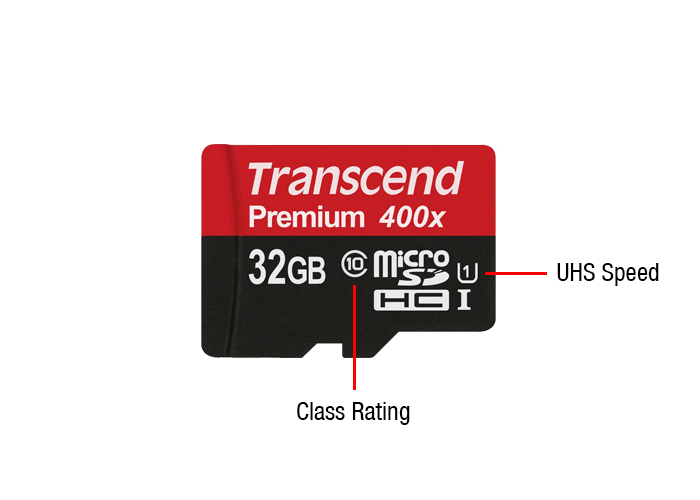 MIRCOSD CARD SPEED RATING