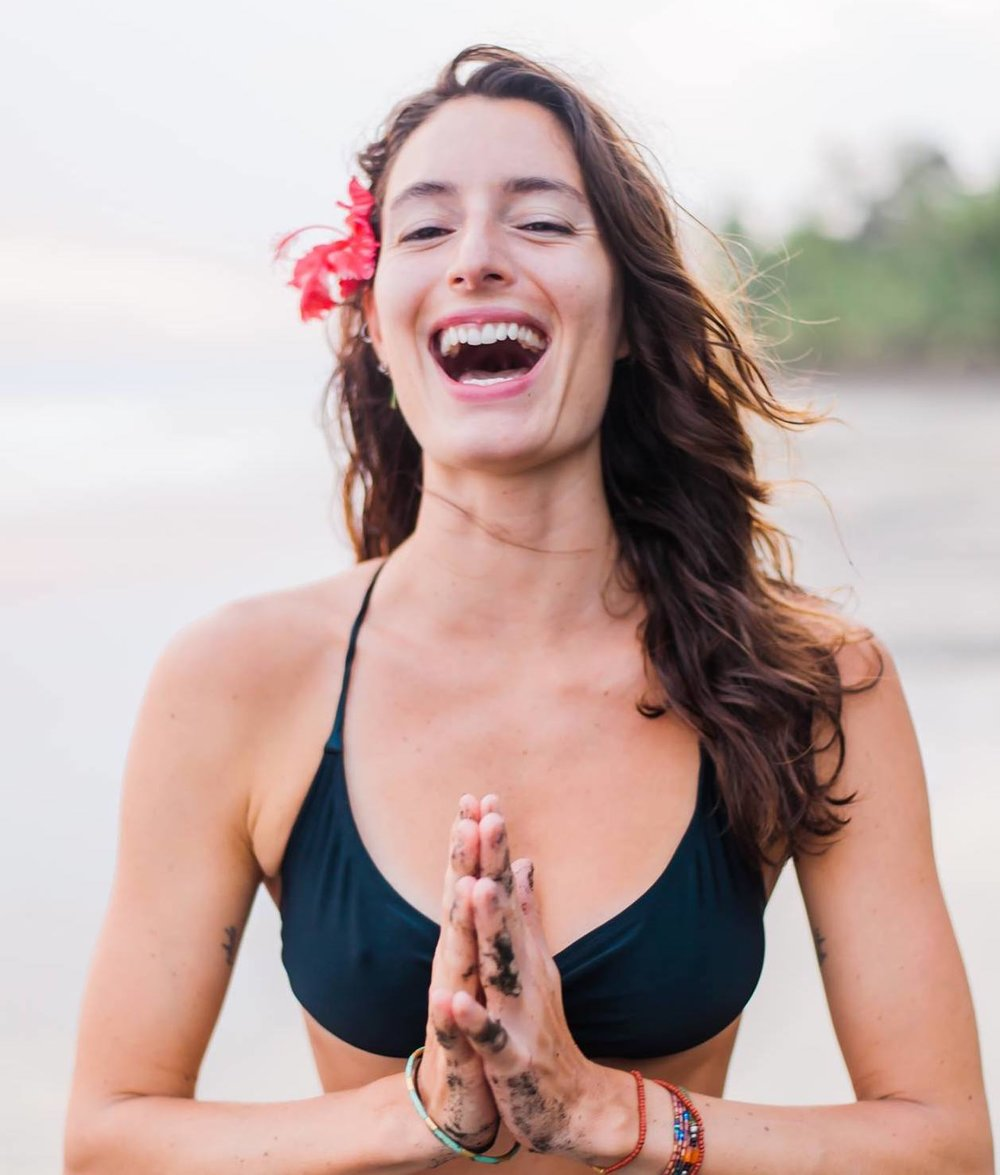 A bit about my journey... - As a devoted yoga practitioner, it wasn't until I was exposed to Ayurveda that I understood how to truly serve myself through healthier lifestyle choices.Learning the key principals of this vast and rich science, empowered me to integrate them into my life. I saw direct shifts as my yoga practice (on and off the mat) enhanced with a better understanding of how to balance my body/mind through sustainable practices and optimal lifestyle routines.As these principals have become an important part of my own journey, I am deeply passionate about sharing them with others to provide a pathway for greater transformation.While there are many ways to learn, the felt experience is one of the most effective ways to absorb information. Experiencing the foundational aspects of Ayurveda through the practices on our mat, allows us to embody (feel) their qualities and create new muscle patterning through our physical, mental and emotional bodies. As we deepen our awareness with consistent experience (practice) and continual exploration, the wisdom becomes embodied and can then be expressed organically.I am thrilled to share this course, a compilation of practices and e-guide focused on the five elements. My hope is that this course sparks a seed of desire for further knowledge and becomes a catalyst in your growth and evolution as yoga practitioner!
