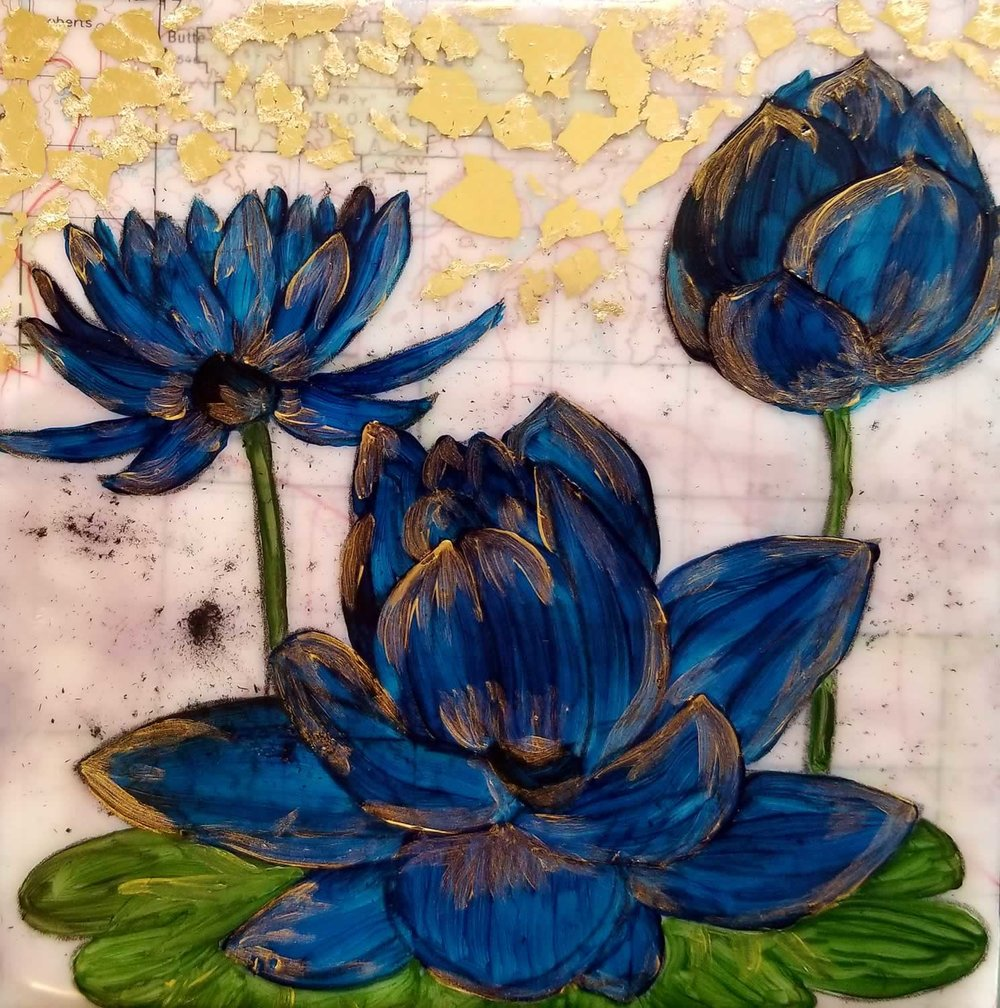 BOTANICALS • Blue Lotus I