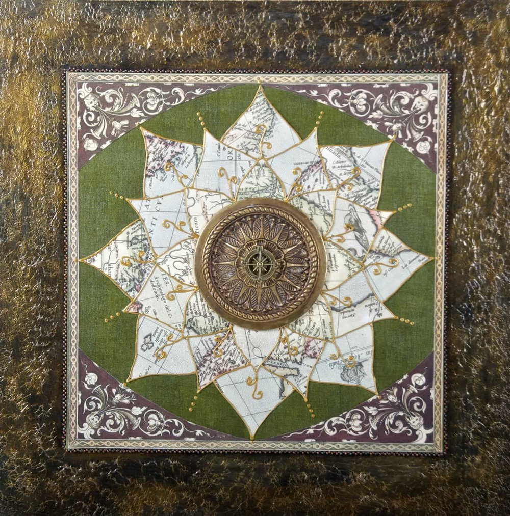 MAP MANDALAS • The Soul of the Earth I