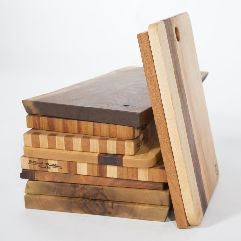 Sweet and Savory Live Edge Cutting Boards -