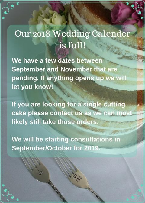 Our 2018 Wedding Calender is full!.jpg