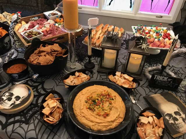 Private Halloween Party - Catered by Chef Karen Hubrich                                   Weston, CT                                October, 2017