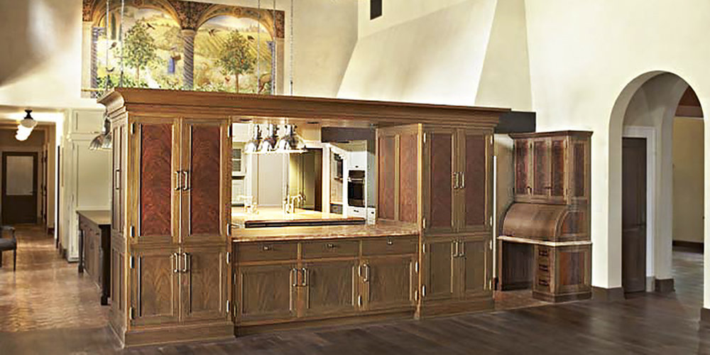 History, custom kitchen