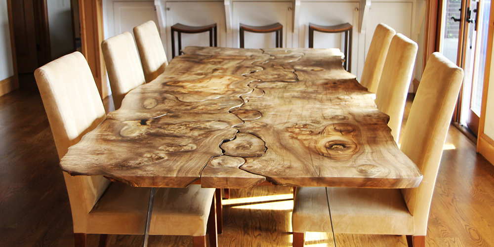 History: Unique live edge table