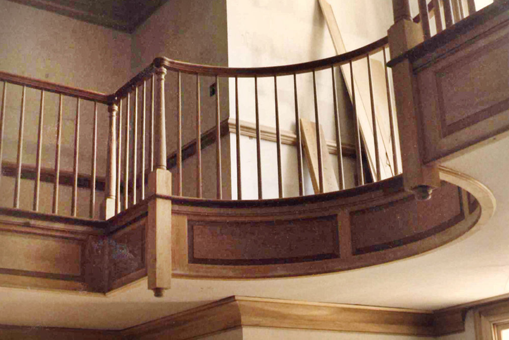 1986-4/1 Balustrade, Lexington KY