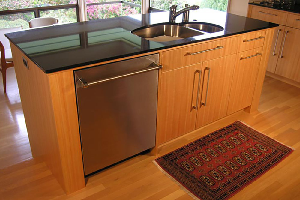 2005-12/1 Contemporary Kitchen Island