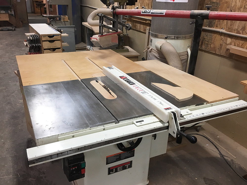 "12"" Jet Table Saw"