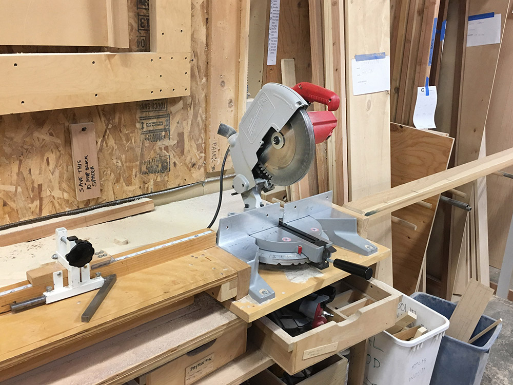 "10"" Milwaukee Miter Saw"