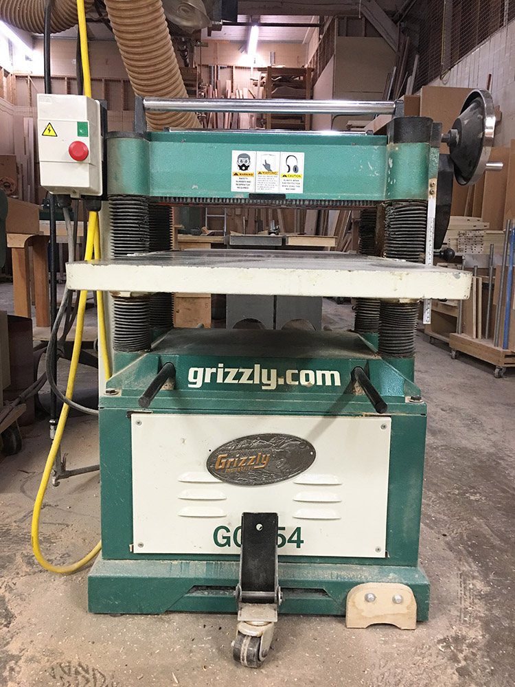 "20"" Grizzly Planer"