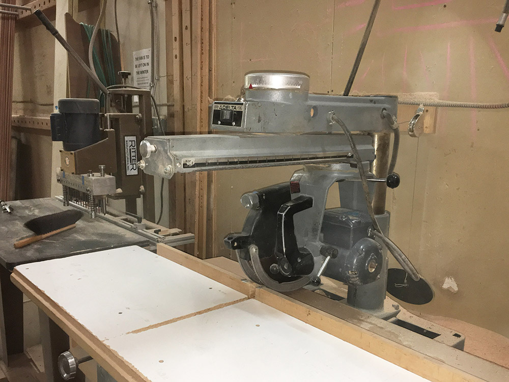Really Old Radial Arm Saw