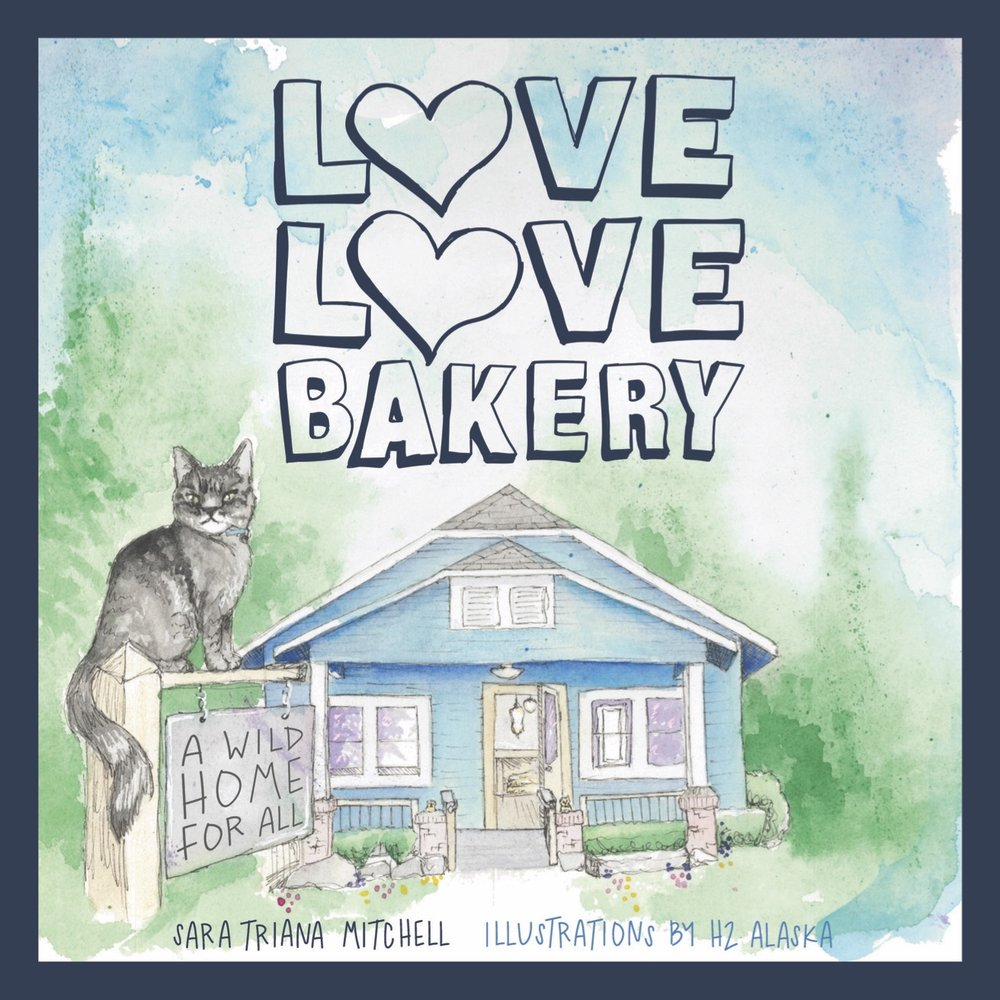 A picture book about sourdough, morning drinks, and the magic of gathering where all are welcome.  - by Sara Triana Mitchellpictures by H2 AlaskaLucid Books, ages 3-8+