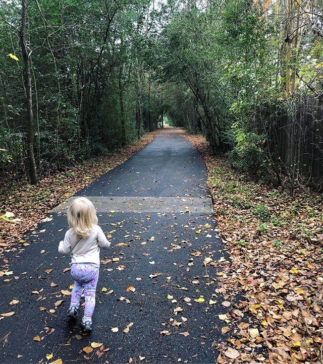 Fall walks forever.