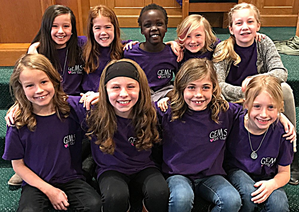 GEMS - GEMS (Girls Everywhere Meeting the Savior!) Through Bible-based lessons, activities, and songs young girls learn who God is, how He is at work in their lives and learn how to make a difference in the world for Him.