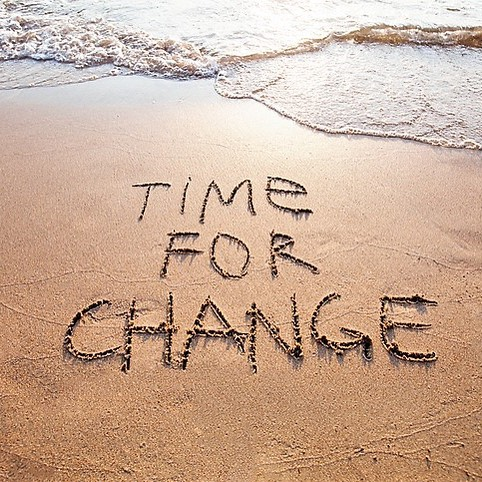 "Change is not easy so have the courage to say ""I can"" & the determination to say ""I will."" Denise Durgin Career Coach"