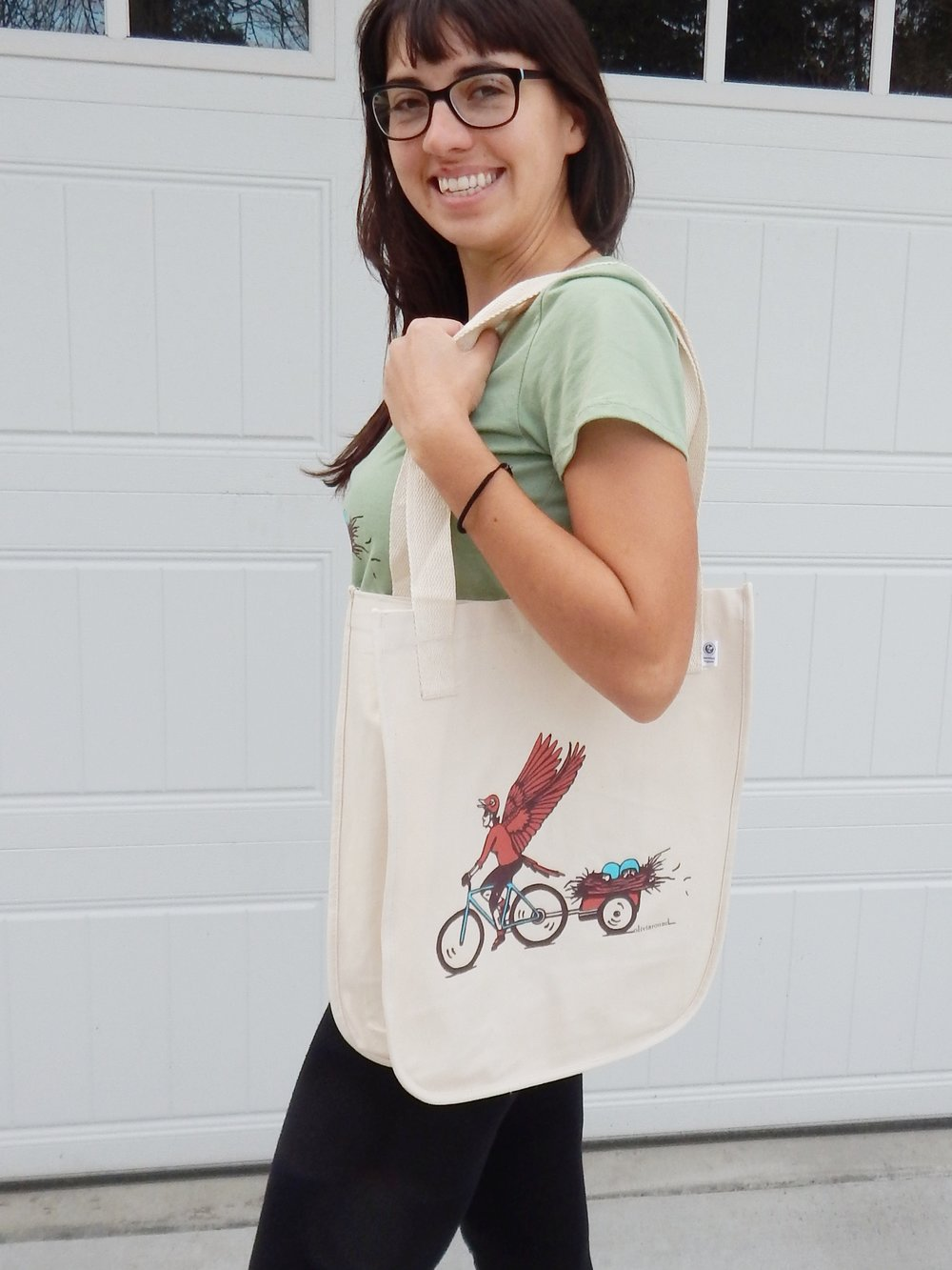 If you'd still like to order a shirt or bag, just head on over to my Etsy site: Olivia Round on Etsy.  -
