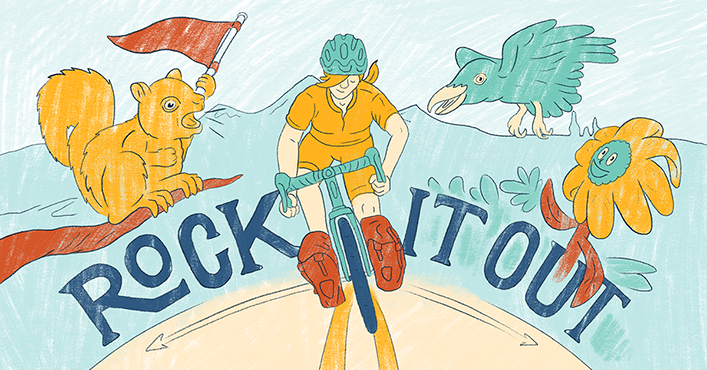 Illustration by  Levi Boughn , Adventure Cycling Association