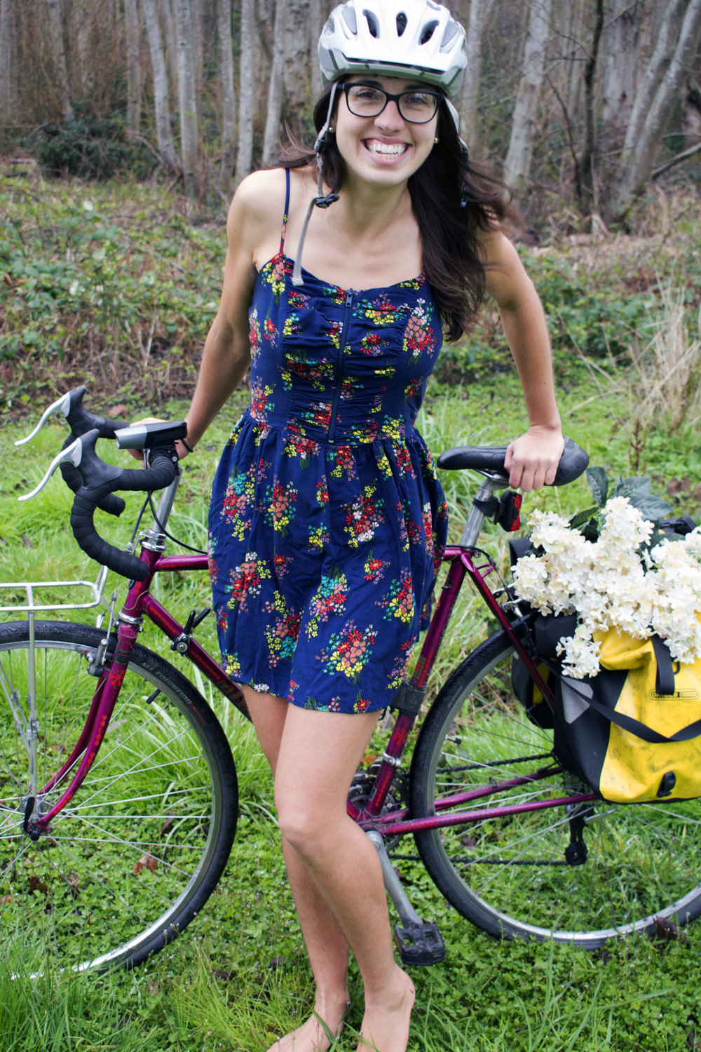 Nothing gets that springtime spark going like seeing pictures of you and your bike together.  -