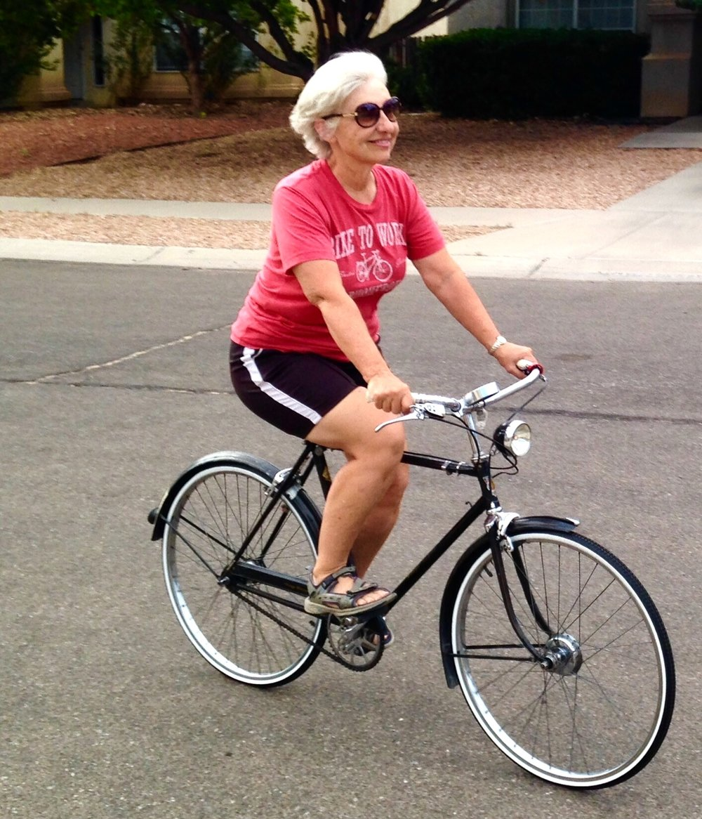 """""""I refuse to willingly give away my power ever again... My bicycles are my valued tools in that aim."""" -"""