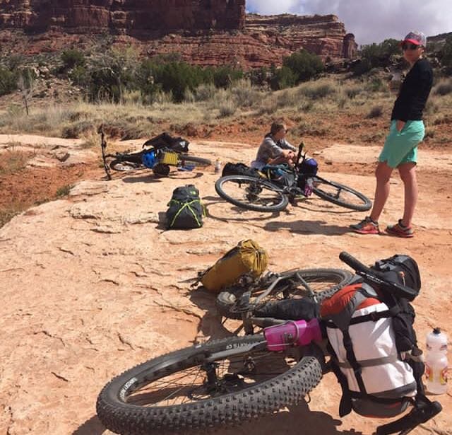"""I did one ladies' trip with two of my friends in Utah which was such a blast… we walked away feeling very accomplished."" -"