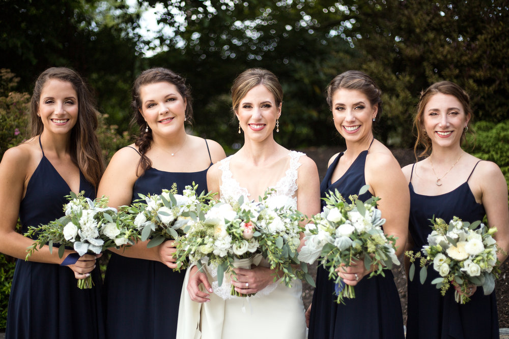 We've got you covered! - From your engagement photos to your wedding day, we'll make sure you and your entire bridal party look and feel flawless!