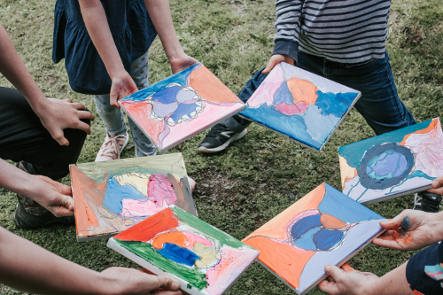 Group Workshops - These group workshops are designed to create individual art pieces in bigger groups. I work with schools/colleges and individual groups together and after art workshops for Well Being.All art workshops are based on Motorskill Capability and Confidence Building. Groups can choose from numerous programs like Nerographic, Earthclay and Birdnest making and many more.Please contact Corinne to discuss you're requirements.Group Prices:5-10 - $35 per person11-20 - $25 per person21-30 - $20 per person