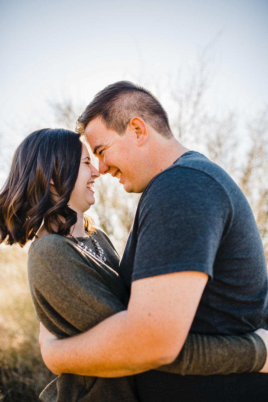 adventurous outdoor couples photography arizona