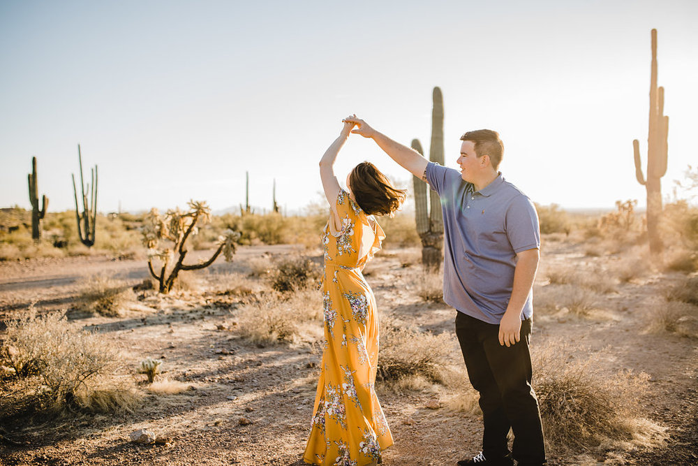 engagement photos dancing poses cache valley utah photography