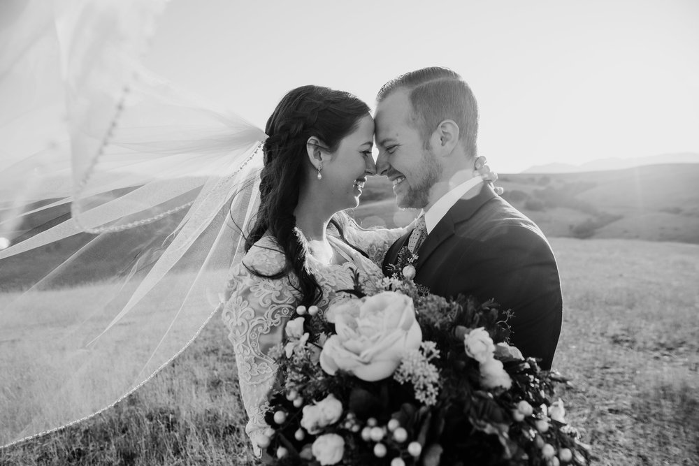 Logan Utah Wedding Photography why every bride should wear a veil in her wedding pictures