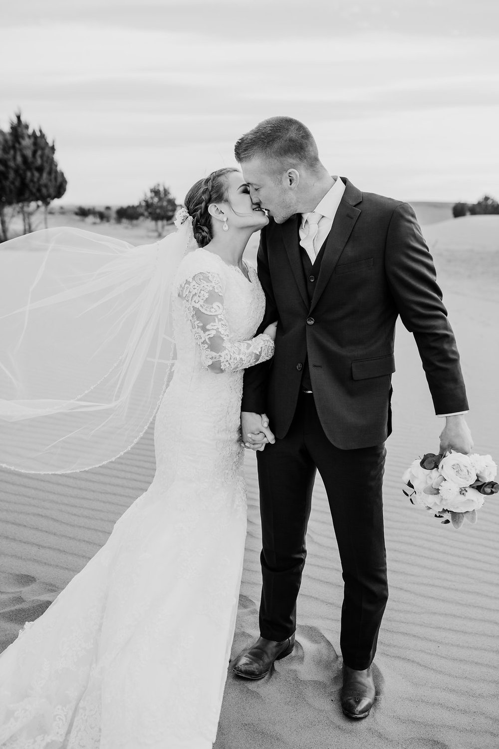 black and white wedding photos rexburg formals idaho wedding photographer