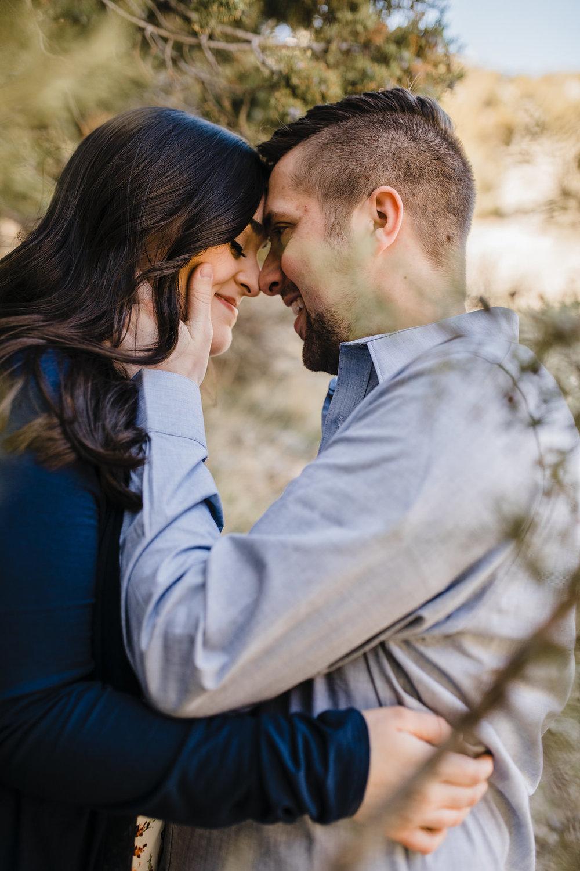 logan utah engagement photographer romantic young couple in love
