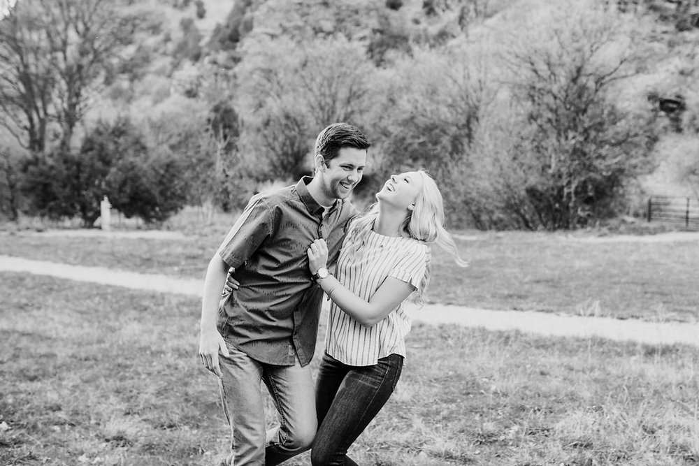 young couples romantic engagement photos calli richards logan utah engagement photographer
