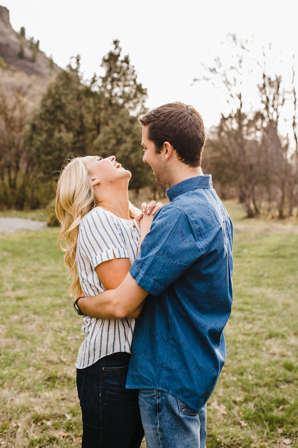 romantic engagement photography logan ut calli richards fun relaxing photo shoot