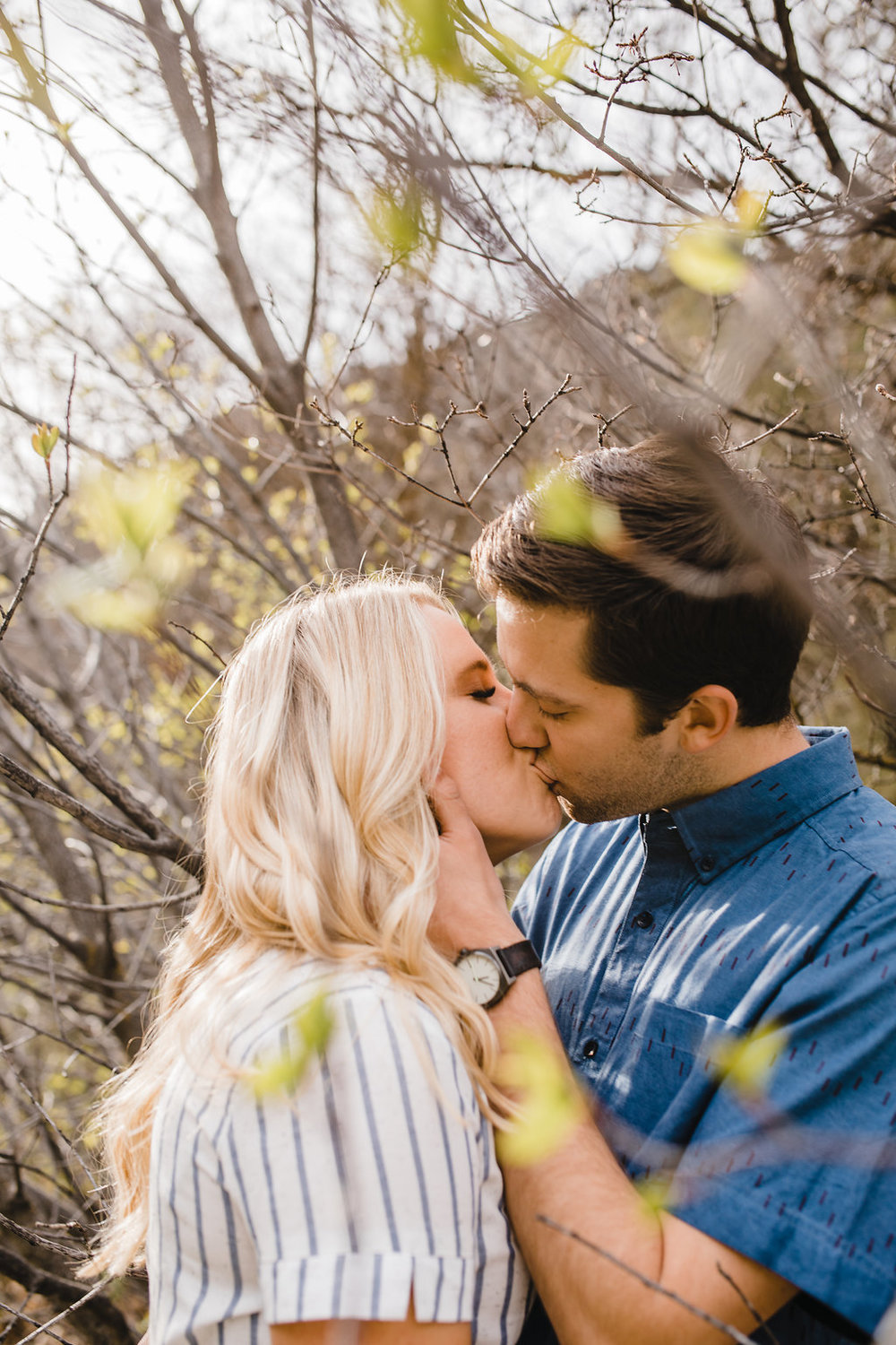 cache valley ut logan green canyon adventurous outdoor engagement photographer calli richards