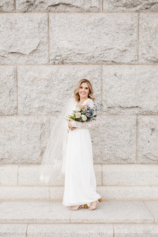 salt lake city wedding photographer bridals utah capitol building calli richards