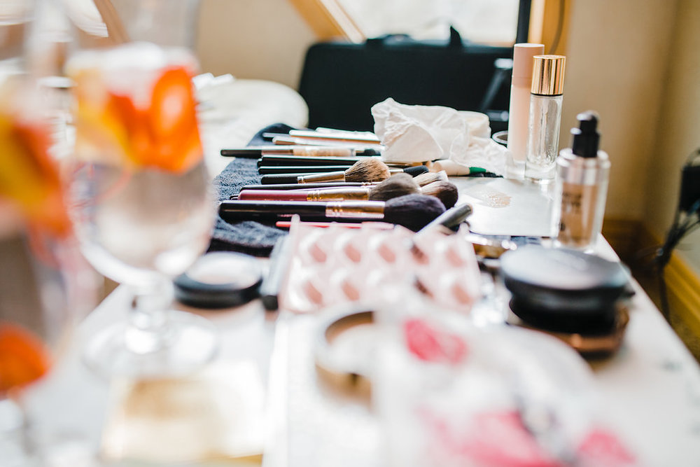 getting ready shots bride makeup and hair wedding photography the morning of midway utah park city wedding photographer