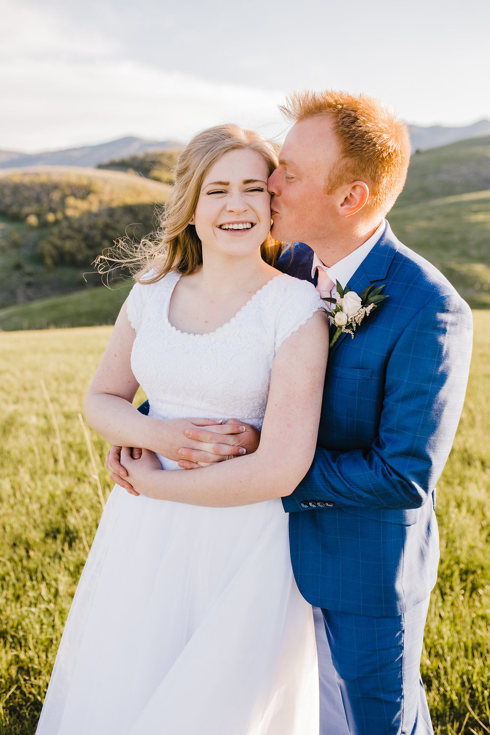 cache valley wedding photographer logan utah formals photography navy suit bride and groom lds couple romantic so in love