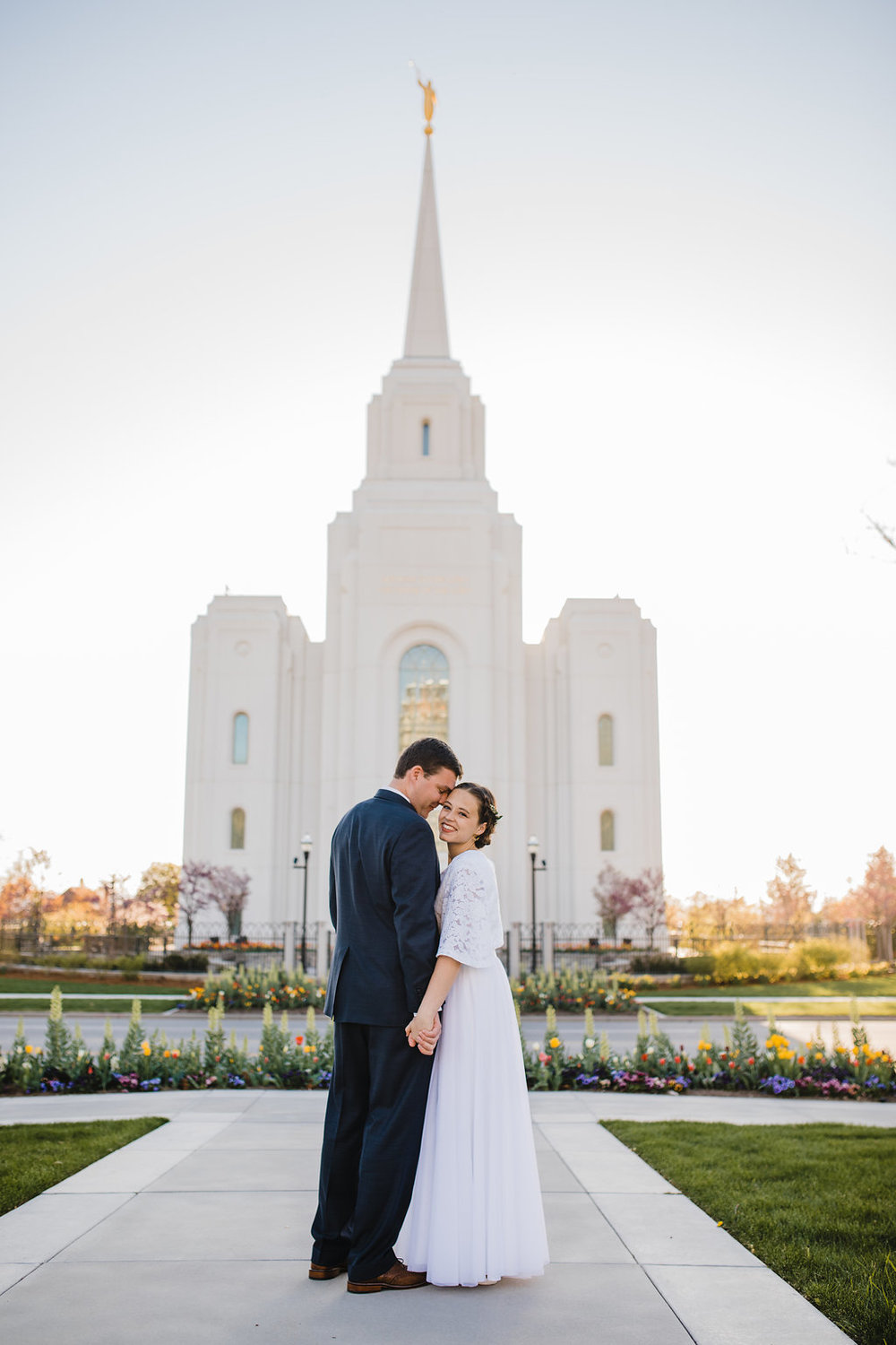brigham city wedding photographer lds temple young couple mormon wedding photographer calli richards available for travel northern utah
