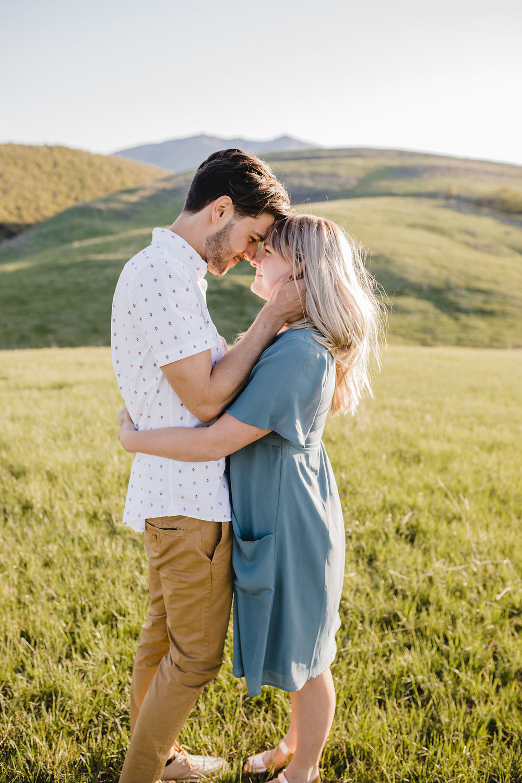 romantic adventurous engagement photography logan utah cache valley professional photographer calli richards