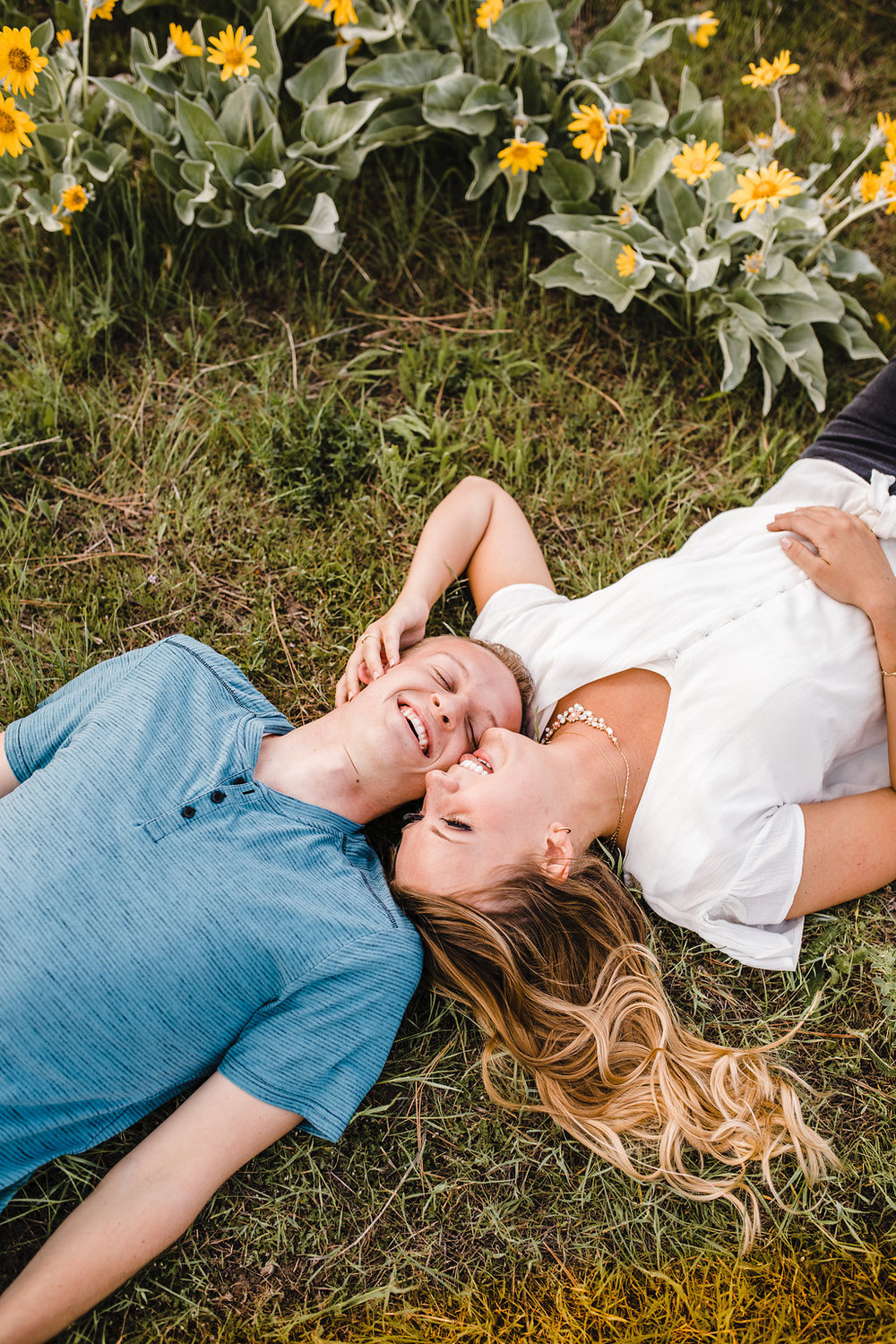 romantic engaged couple professional photographer calli richards logan utah engagement photography