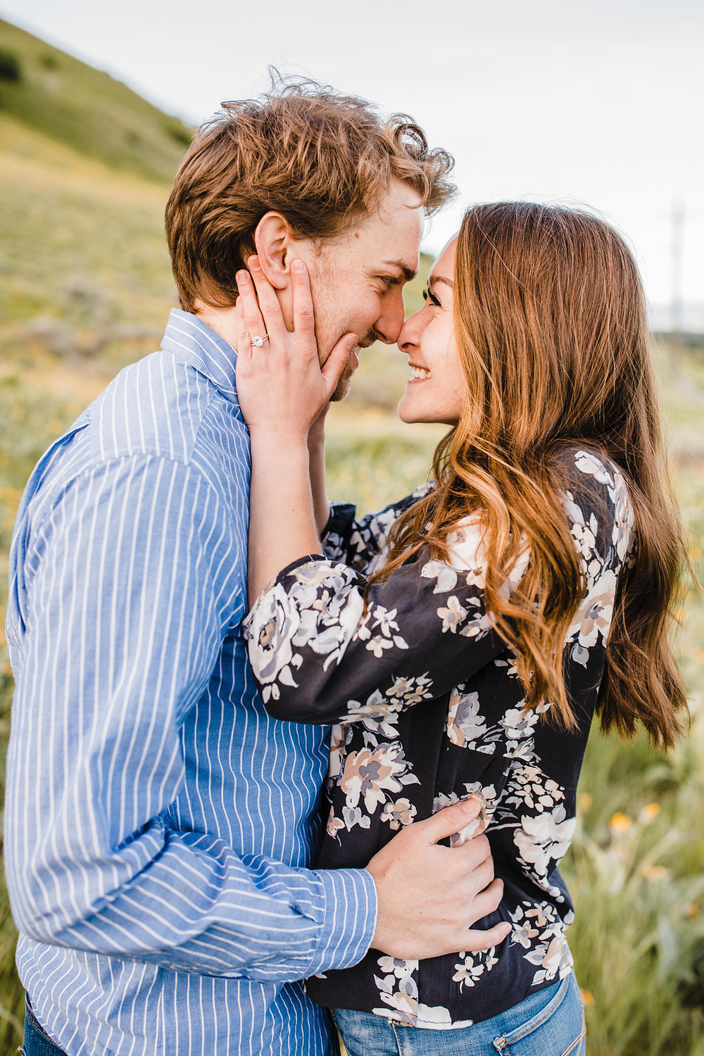 best engagement photographer in logan utah calli richards cache valley engagement photography adventurous couples young lds bride