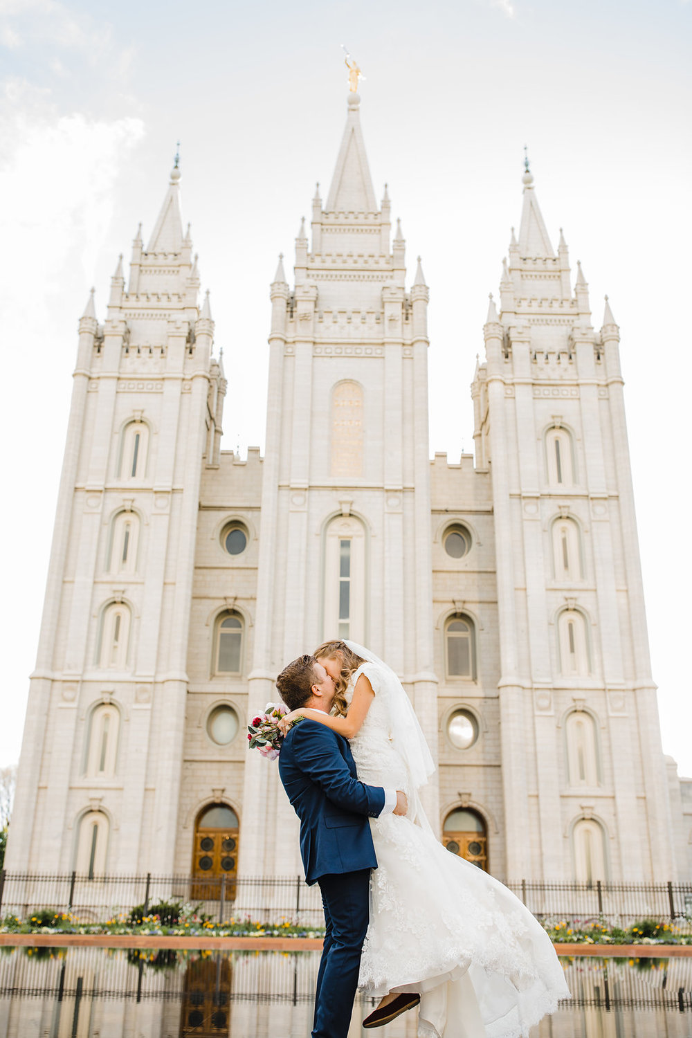 salt lake city lds temple wedding day professional photographer in northern utah calli richards