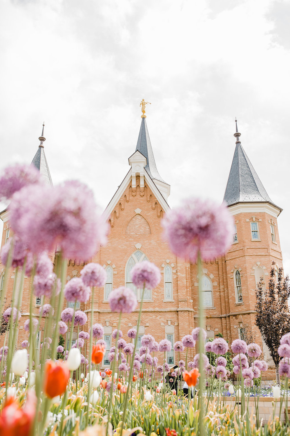professional wedding photographer provo city center lds temple