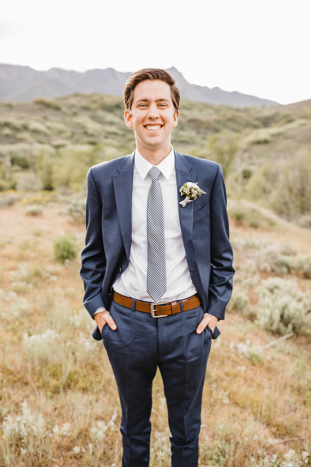 formal wedding photography groom suit formals in a mountain professional photographer logan utah calli richards