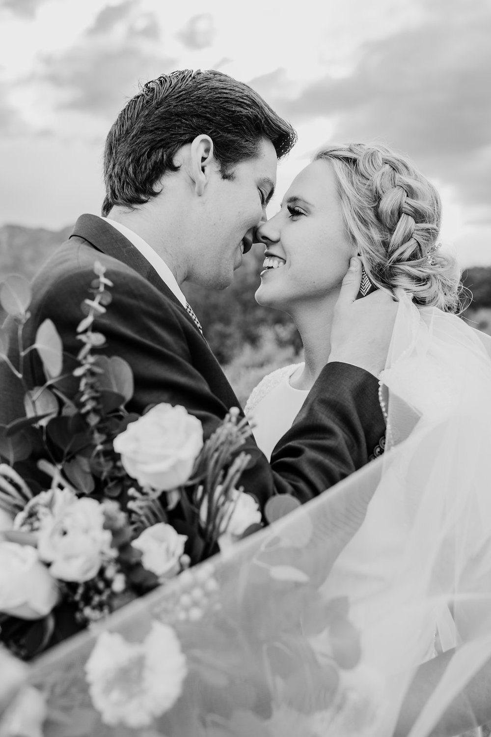 calli richards bridal veil logan utah formals photo shoot in a mountain professional best wedding photographer in cache valley