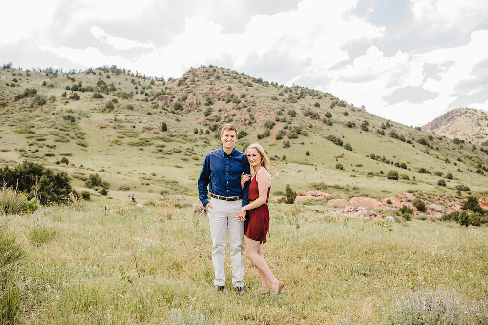 denver colorado engagement photography