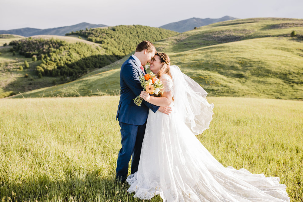 Brigham City Utah Wedding Photographer Wedding Bridals Wedding Train Summer Wedding Bouquet Mountain Wedding