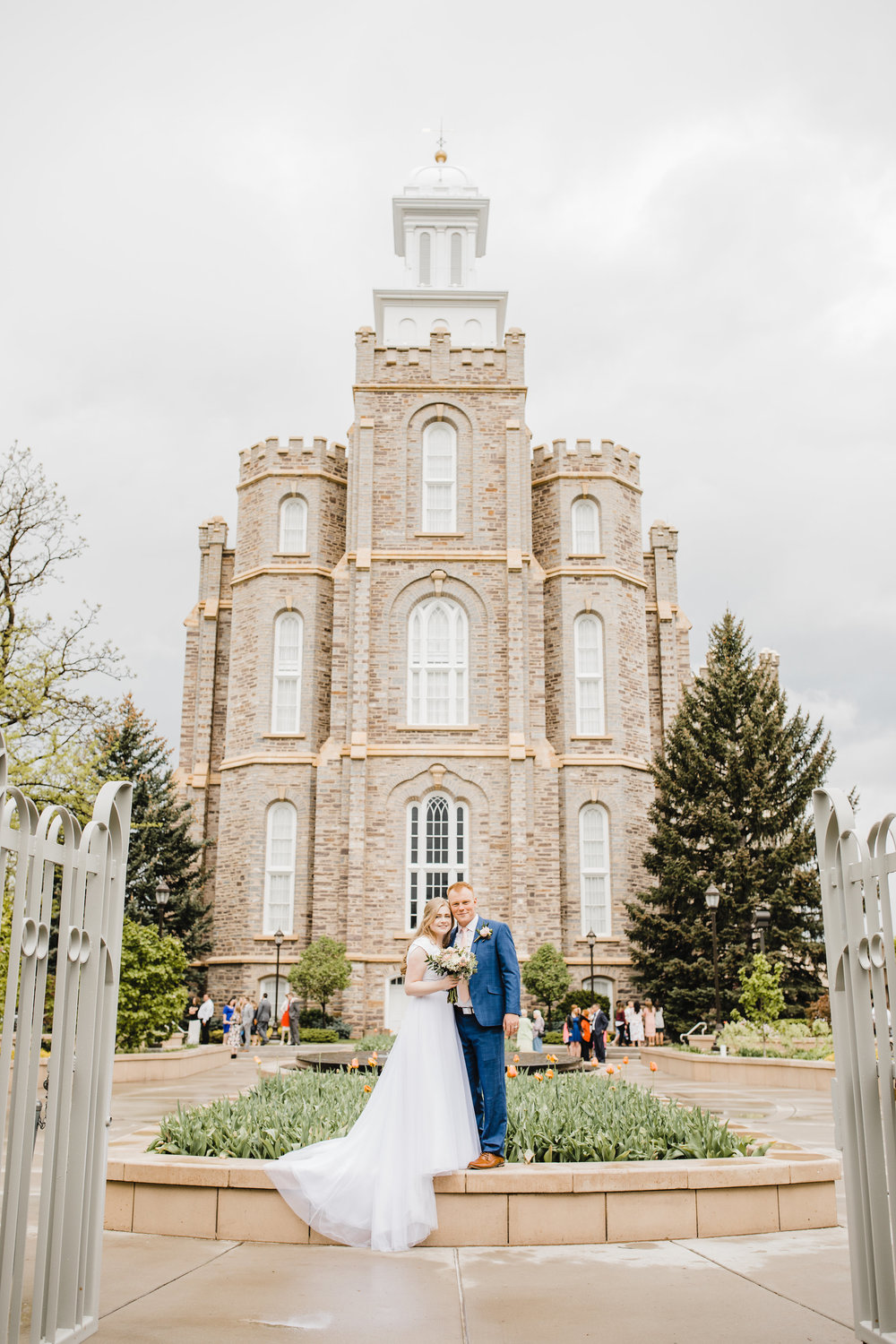 professional wedding photographer in cache valley utah lds temple wedding wedding bridals summer wedding