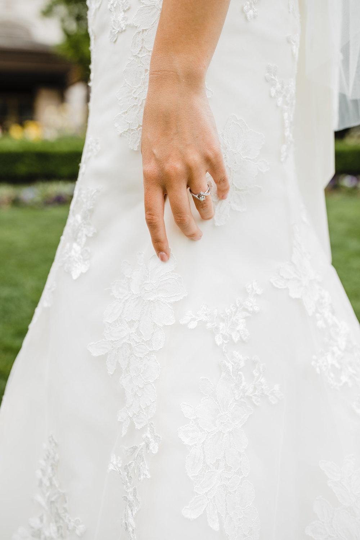 lakewood colorado wedding photographer delicate lace wedding band